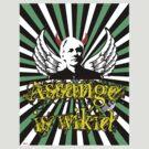 Assange is WIKID ;) by KISSmyBLAKarts