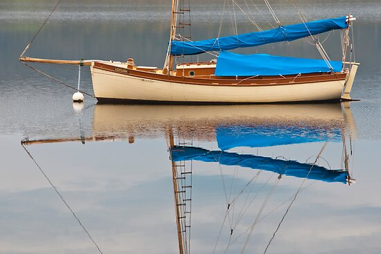 Smooth Sailing by Werner Padarin