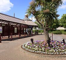 Seaton Tram Station Devon Eng;and by chris-csfotobiz