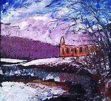 'Winter, Bolton Abbey' by Martin Williamson (©cobbybrook)