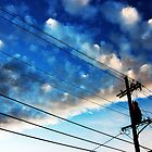 Clouds over Marigny by UncleBug