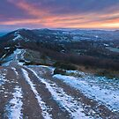 Malvern Hills: Winter Fire by Angie Latham
