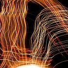 Suburb Christmas Light Series - Energy Arc by David J. Hudson