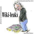 Wiki Leaks by Londons Times Cartoons by Rick  London