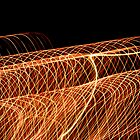 Suburb Christmas Light Series - Waves by David J. Hudson