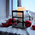 The First Advent Candle by Ritva Ikonen