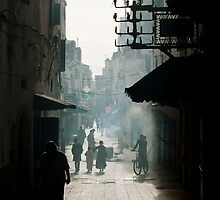 Smoke on the streets, Essaouira, Morocco by Cian T Murphy