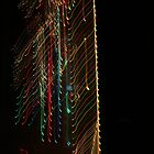 Suburb Christmas Light Series -  Xmas Backbone by David J. Hudson