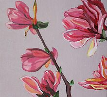 Painted Florals Calendar by Marjolein
