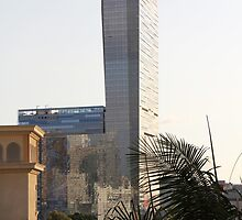 Sunny Tower by CallinoisArt