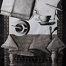 Still Life, ink on paper, 1998 by fiona vermeeren