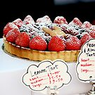 Berry tart by Jeanne Horak-Druiff