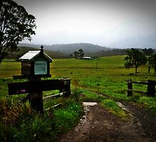 Letter box on isolated farm. by myraj