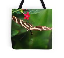 In Balance Zebra Longwing - Heliconius charithonia Tote Bag