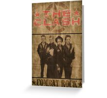 Combat Rock Greeting Card