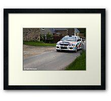 Jim Clark Rally 10 Framed Print