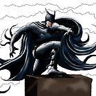 The Dark Knight by Joozu