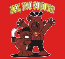 Teddy Bear Goonies by jayveezed