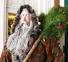 Father Christmas Arrives ~ Wyoming, New York by artwhiz47