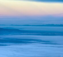 Morning waves by Laurentiu Pavel