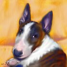 Bull Terrier by Iain McDonald