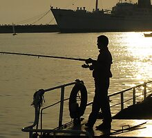 Fishing in Tuzla. by rasim1