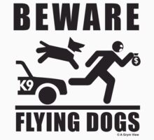 Flying Dogs K9 Pictogram by grym