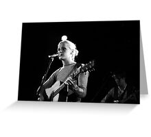Laura Marling Greeting Card