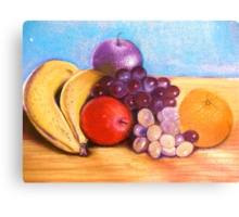 Fruitful frontispiece Canvas Print