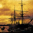 HMS Warrior, Portsmouth Dockyard, UK by buttonpresser
