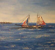 Sailing in Charleston by tamiboo