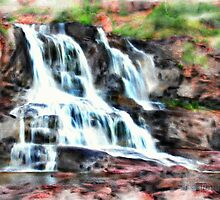 Gooseberry Falls by Eric Tuominen