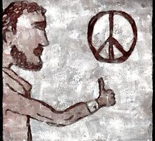 Thumbs-Up for Peace by Albert