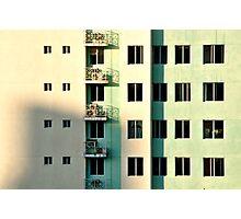 Five Balconies  Photographic Print