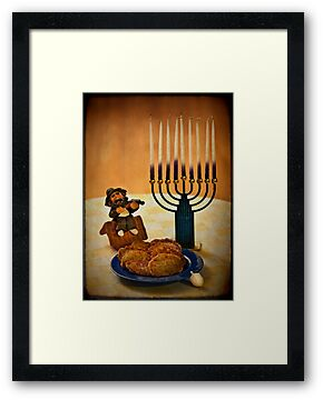 Happy Hanukkah! by Evelina Kremsdorf