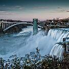 American Falls by (Tallow) Dave  Van de Laar