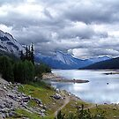 Medicine Lake, Alberta by Jann Ashworth