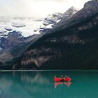 Red canoes (HDR) by zumi