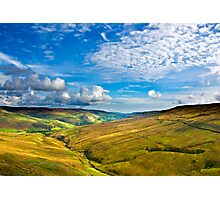 Summer View from The Buttertubs Photographic Print