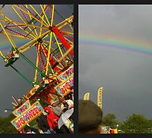 Rainbow, Big Chill 2010 by Jackie Barefield