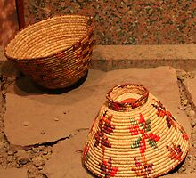 Reed Baskets for Henna and Cereal by Laurel Talabere