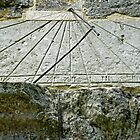 Vertical Sundial on St George's Church, Arreton by Rod Johnson