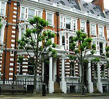 London Flat Facade by Bobbie J. Bonebrake