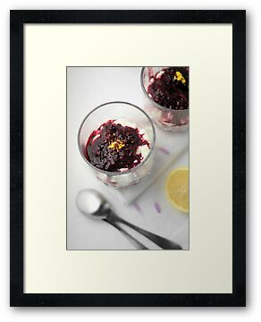 Berry cheesecake by Jeanne Horak-Druiff