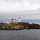 Nubble Lighthouse by smalletphotos