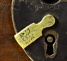 Heart-Shaped Lock by Chris Richards
