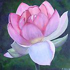 Lotus - rebirth by Pam Wilkie