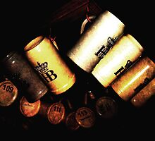 Hofbrau Mugs by Bobbie J. Bonebrake