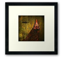 You eat what? Framed Print