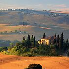Tuscan Villa by Inge Johnsson